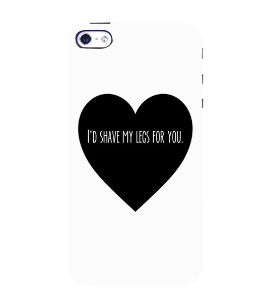 EPICCASE Things i do for you Back Case Cover for Apple iPhone 4