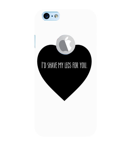 EPICCASE Things i do for you Back Case Cover for Apple iPhone 6/6s