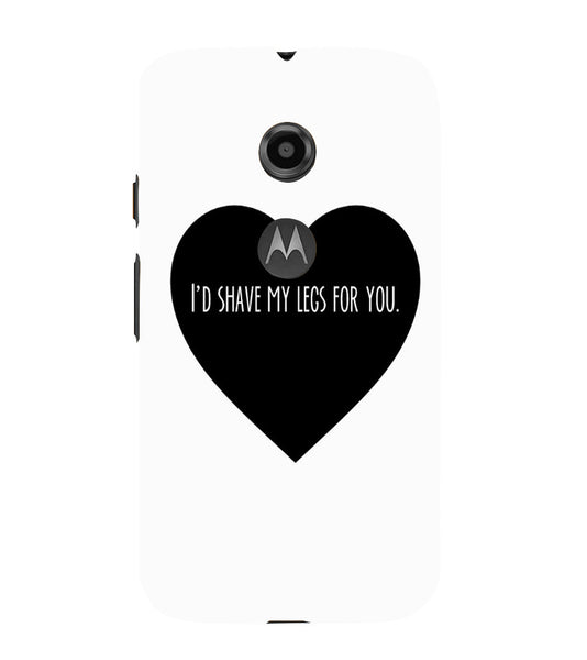 EPICCASE Things i do for you Back Case Cover for Moto E2