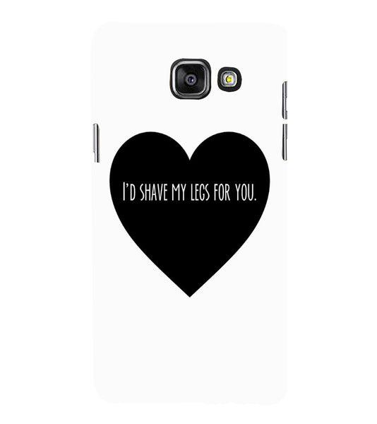 EPICCASE Things i do for you Back Case Cover for Samsung A5 2016