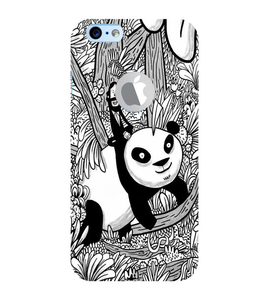 EPICCASE Black and white panda Back Case Cover for Apple iPhone 6/6s