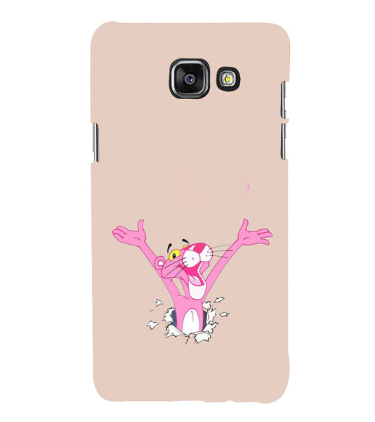 EPICCASE Panther pink Back Case Cover for Samsung A5 2016