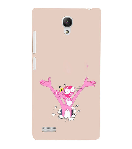 EPICCASE Panther pink Back Case Cover for Xiaomi Redmi Note