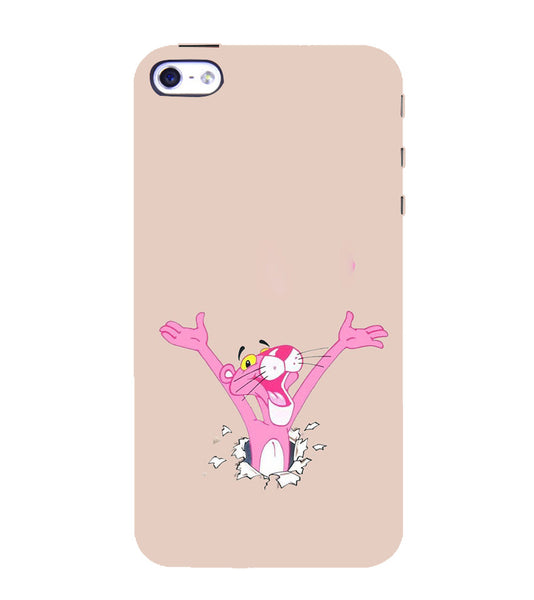 EPICCASE Panther pink Back Case Cover for Apple iPhone 5/5s