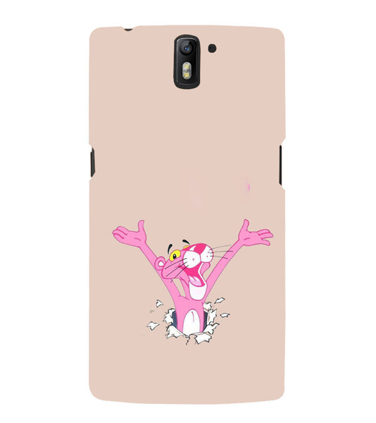 EPICCASE Panther pink Back Case Cover for Oneplus One