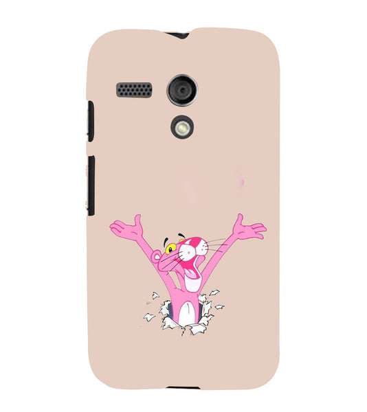 EPICCASE Panther pink Back Case Cover for Moto G