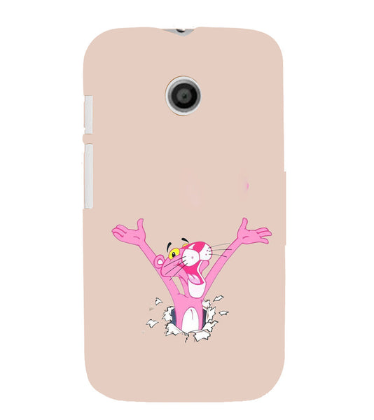 EPICCASE Panther pink Back Case Cover for Moto E
