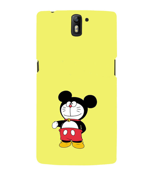 EPICCASE Dorae mickey Back Case Cover for Oneplus One