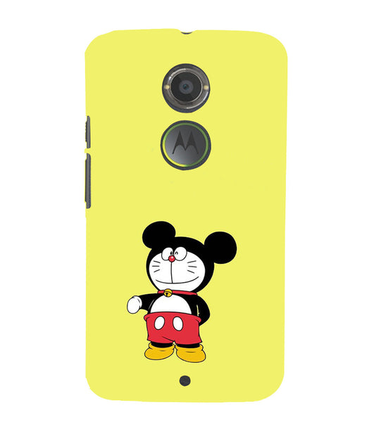 EPICCASE Dorae mickey Back Case Cover for Moto X2