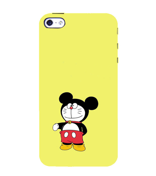 EPICCASE Dorae mickey Back Case Cover for Apple iPhone 5/5s