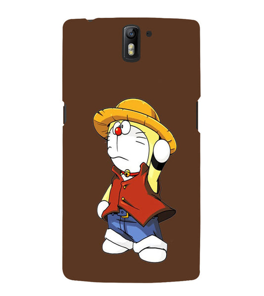 EPICCASE Dorae animated cartoon Back Case Cover for Oneplus One