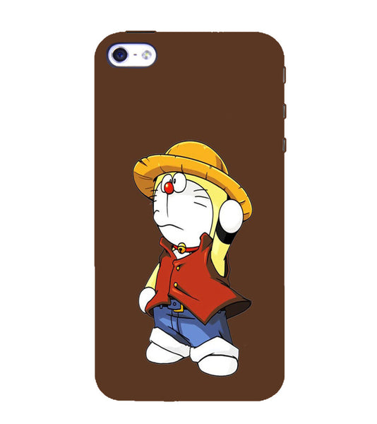 EPICCASE Dorae animated cartoon Back Case Cover for Apple iPhone 5/5s