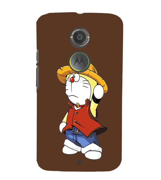 EPICCASE Dorae animated cartoon Back Case Cover for Moto X2