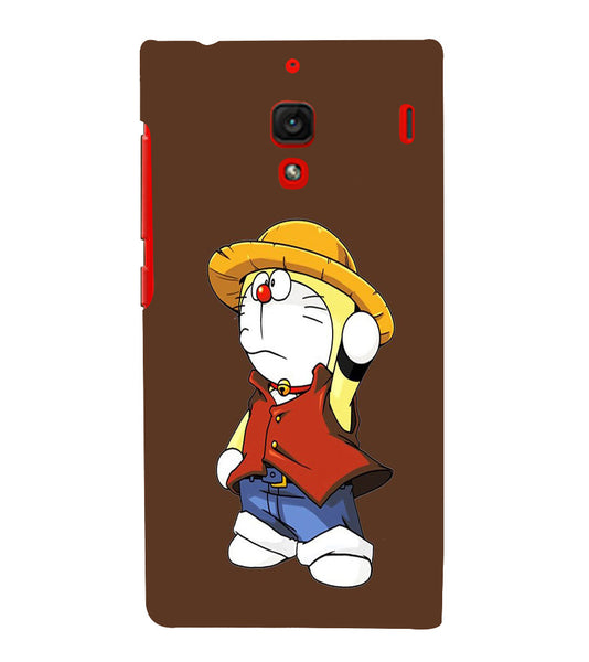 EPICCASE Dorae animated cartoon Back Case Cover for Xiaomi Redmi 1s