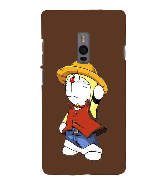 EPICCASE Dorae animated cartoon Back Case Cover for Oneplus Two