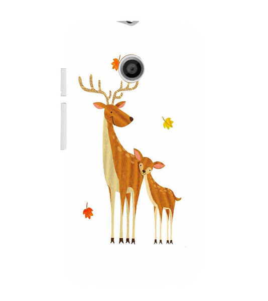 EPICCASE Deer Love  Back Case Cover for Moto E