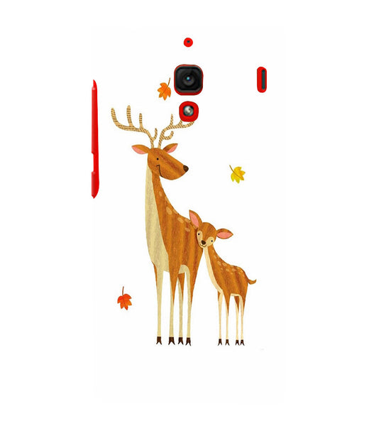 EPICCASE Deer Love  Back Case Cover for Xiaomi Redmi 1s