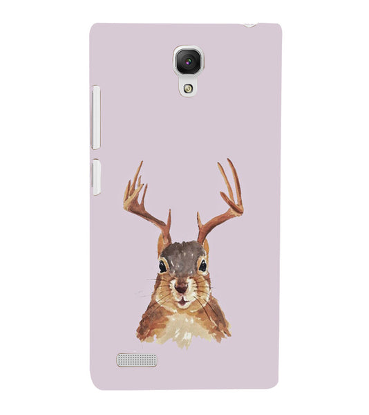 EPICCASE Squireel with horns Back Case Cover for Xiaomi Redmi Note