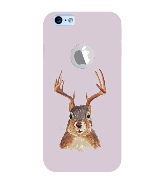 EPICCASE Squireel with horns Back Case Cover for Apple iPhone 6/6s