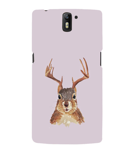 EPICCASE Squireel with horns Back Case Cover for Oneplus One