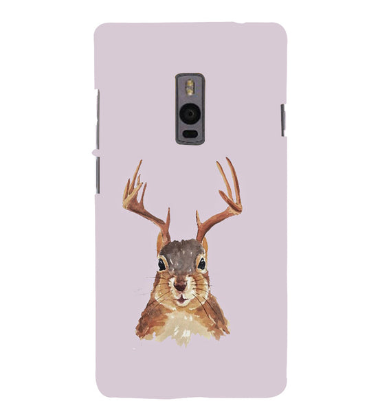 EPICCASE Squireel with horns Back Case Cover for Oneplus Two