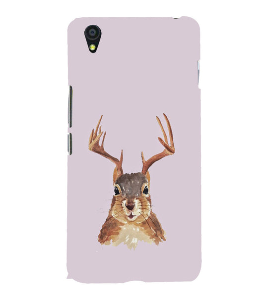 EPICCASE Squireel with horns Back Case Cover for Oneplus X