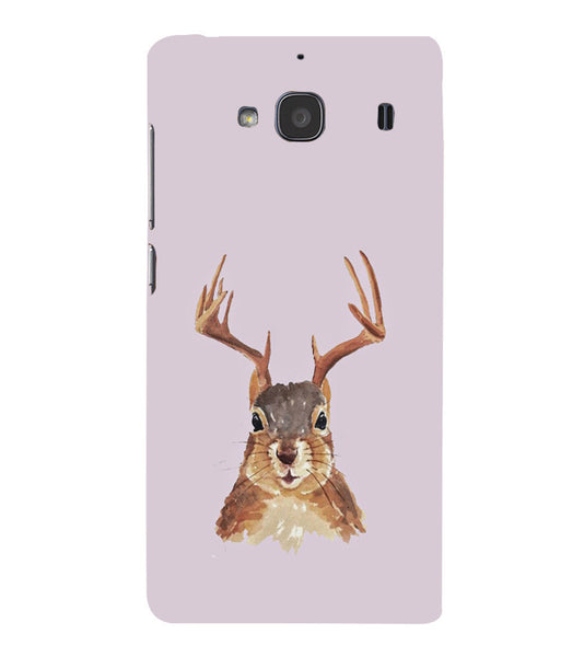 EPICCASE Squireel with horns Back Case Cover for Xiaomi Redmi 2s