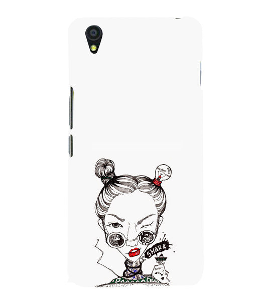 EPICCASE Sassy girl Back Case Cover for Oneplus X