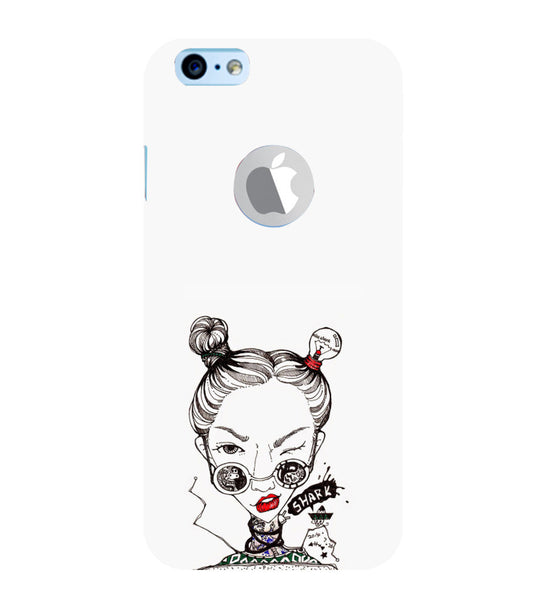 EPICCASE Sassy girl Back Case Cover for Apple iPhone 6/6s