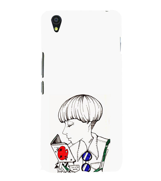 EPICCASE Artistic girl Back Case Cover for Oneplus X