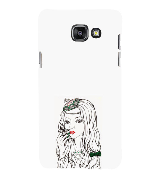 EPICCASE Dreamy girl Back Case Cover for Samsung A7 2016