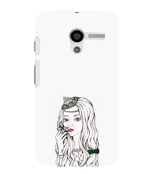 EPICCASE Dreamy girl Back Case Cover for Moto X