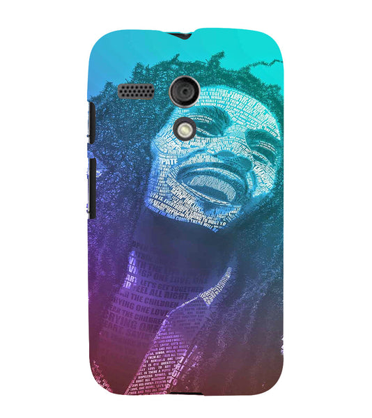 EPICCASE Money cant buy happiness Back Case Cover for Moto G