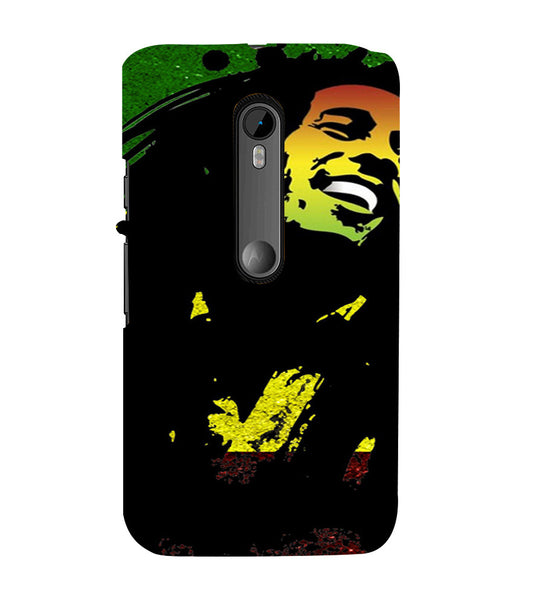 EPICCASE Live and let live Back Case Cover for Moto X Style