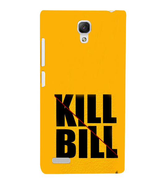 EPICCASE Kill without Mercy  Back Case Cover for Xiaomi Redmi Note prime