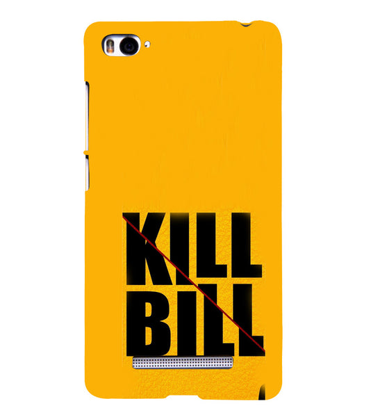 EPICCASE Kill without Mercy  Back Case Cover for Xiaomi Redmi Mi4i