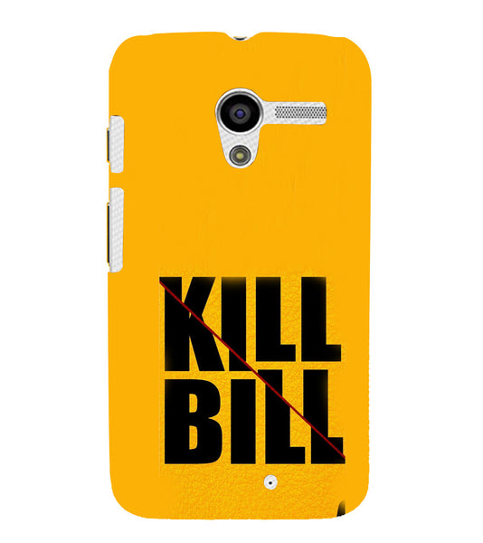 EPICCASE Kill without Mercy  Back Case Cover for Moto X