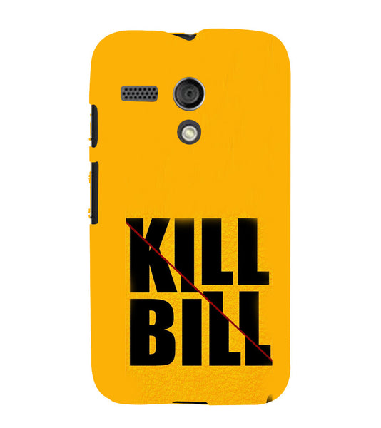 EPICCASE Kill without Mercy  Back Case Cover for Moto G