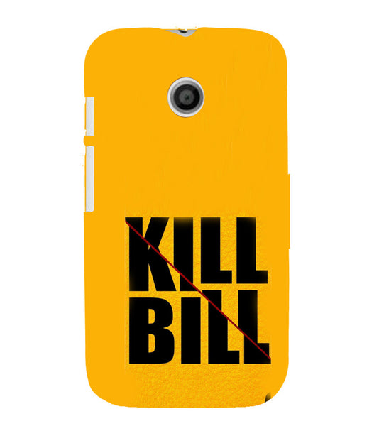 EPICCASE Kill without Mercy  Back Case Cover for Moto E
