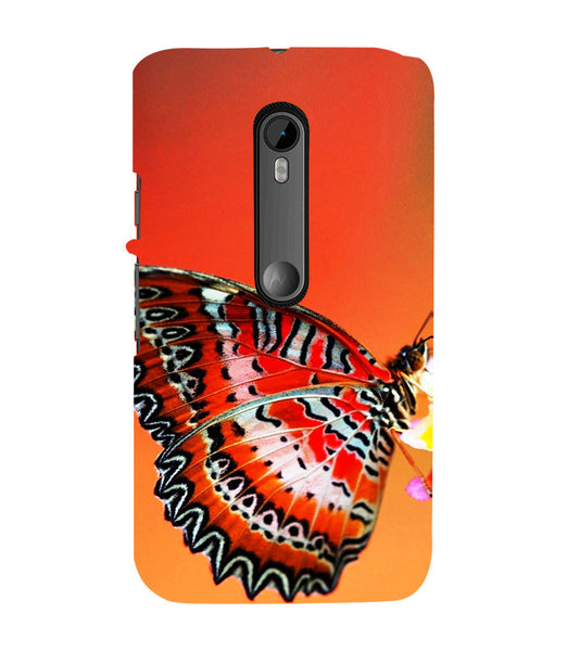 EPICCASE Butterfly in wild Back Case Cover for Moto X Force