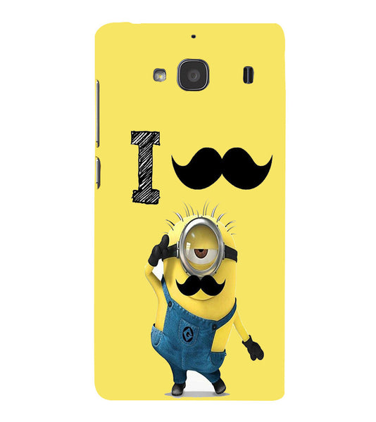 EPICCASE i must have you Back Case Cover for Xiaomi Redmi 2s