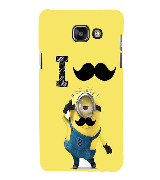 EPICCASE i must have you Back Case Cover for Samsung A7 2016