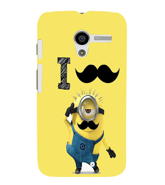 EPICCASE i must have you Back Case Cover for Moto X