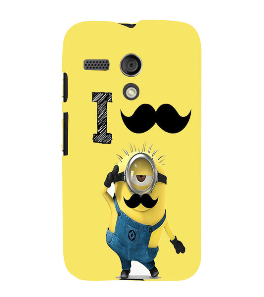 EPICCASE i must have you Back Case Cover for Moto G
