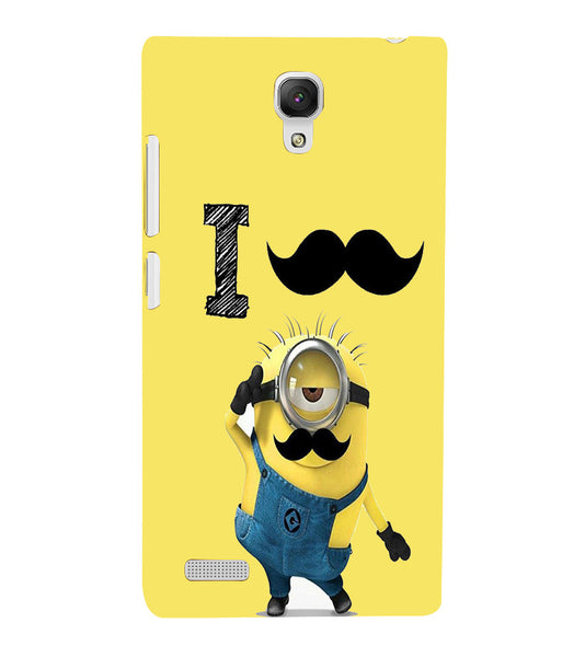 EPICCASE i must have you Back Case Cover for Xiaomi Redmi Note prime