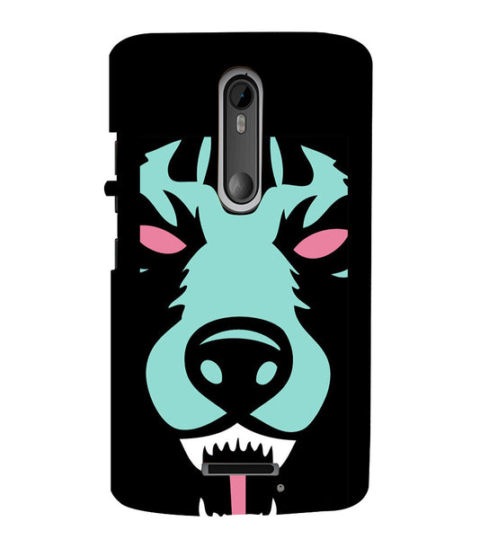 EPICCASE Beast mode  Back Case Cover for Moto X3