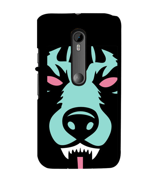 EPICCASE Beast mode  Back Case Cover for Moto X Force