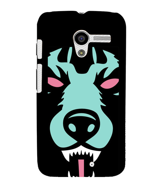 EPICCASE Beast mode  Back Case Cover for Moto X