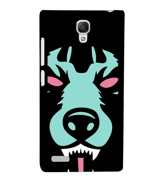 EPICCASE Beast mode  Back Case Cover for Xiaomi Redmi Note prime