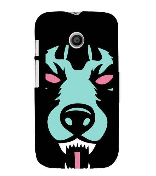 EPICCASE Beast mode  Back Case Cover for Moto E